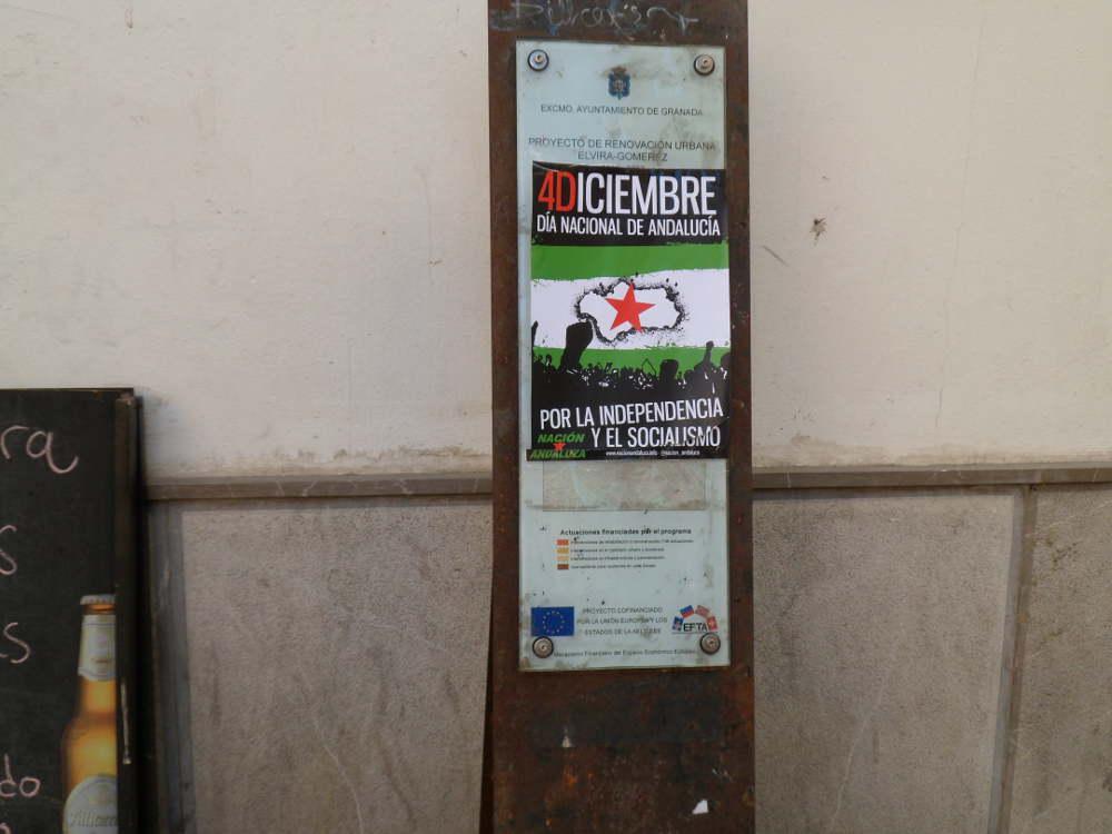 Señal del Programa de Rehabilitación del Eje Elvira-Gomérez