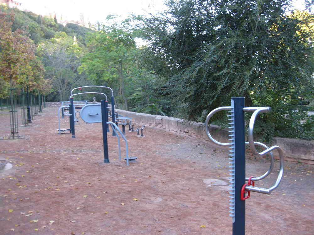 Zona saludable de mayores en el espacio del Rey Chico (2013)