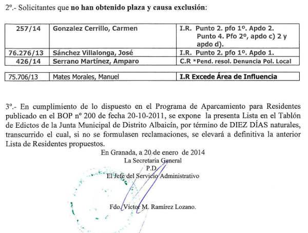 Aparca Rey Chico lista prov 2014b