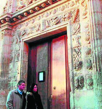 Imagen del acceso principal al Museo Arqueológico.