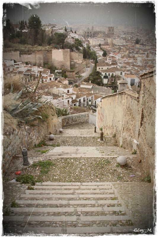 Bajando desde Carretera Murcia a Vereda San Cristobal 2014 Eloy Morales