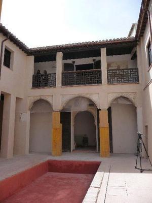 Interior de la Casa de Zafra tras su rehabilitación :: M. V. C.