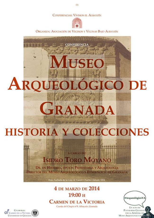 Conferencia Museo Arqueologico 2014
