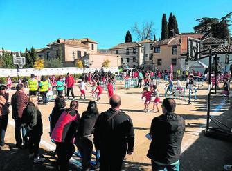 Actividades deportivas en el Huerto del Carlos. GH 2014