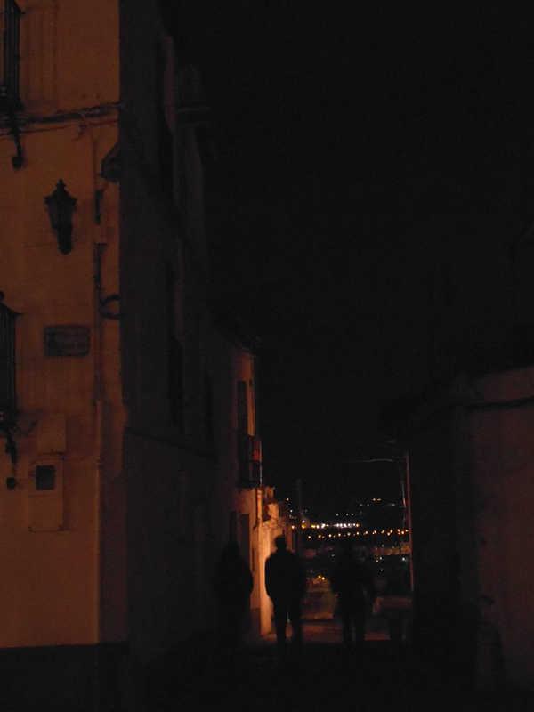La farola sin reponer en San Miguel Bajo