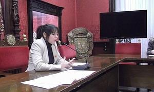 """Jemi Sánchez, concejala PSOE, argumenta que esta medida permitiría """"ahorrar más de 40.000 euros"""""""