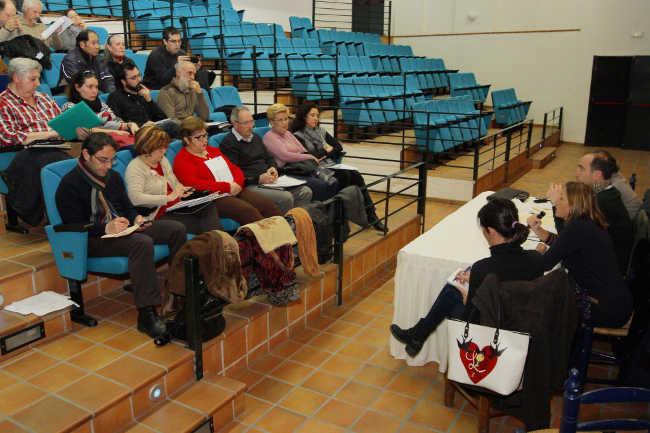 Junta Distrito de febrero 2014 celebrada en La Chumbera.