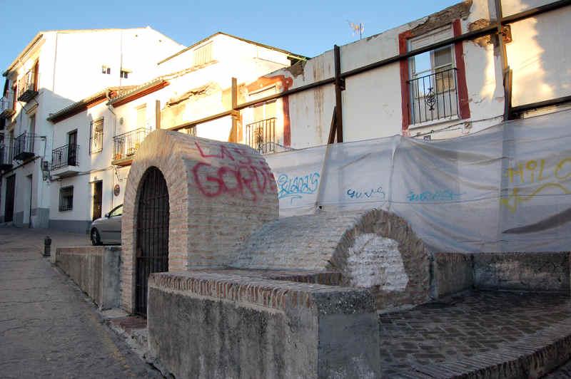 Pintadas aljibe san Gregorio y su entorno. 2014