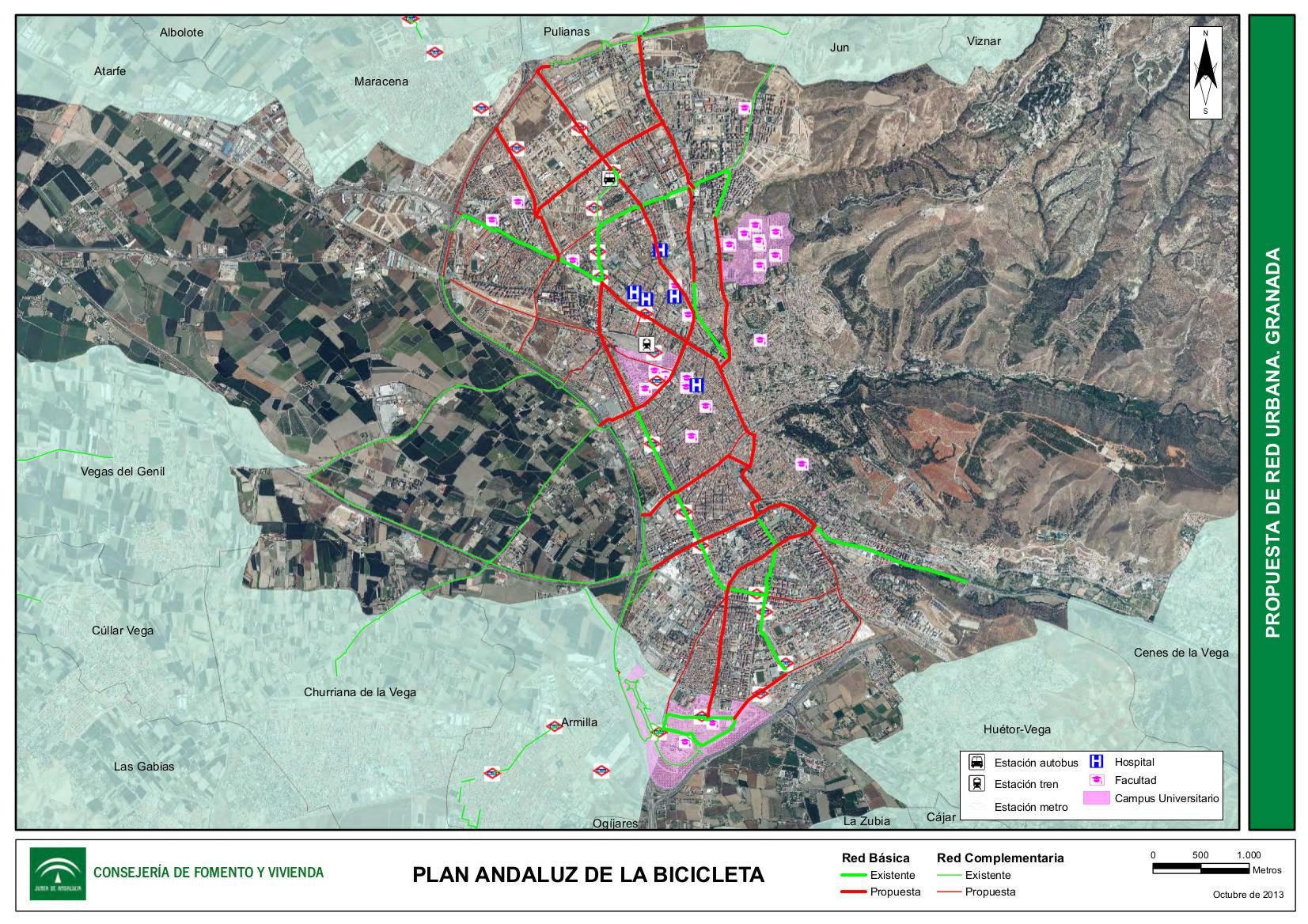 Plan Andaluz Bicicleta Propuesta Granada 2014
