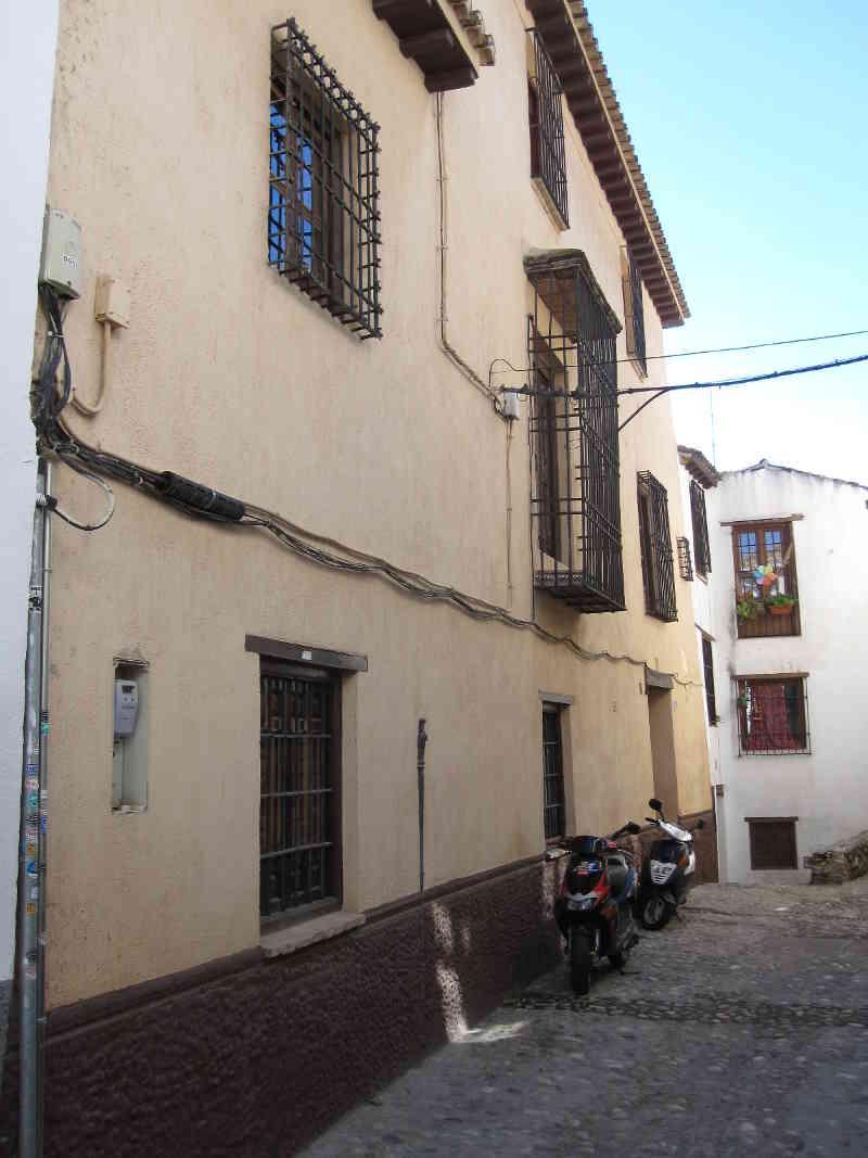 Casas de la calle Aljibe de Trillo. 2014