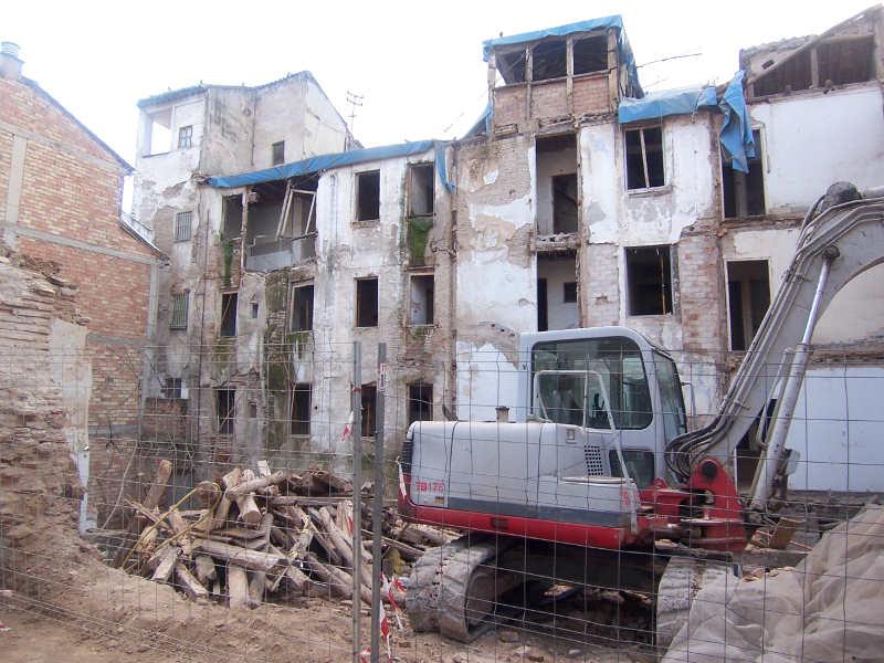 Derribo edificio calle Serrano 2014 a