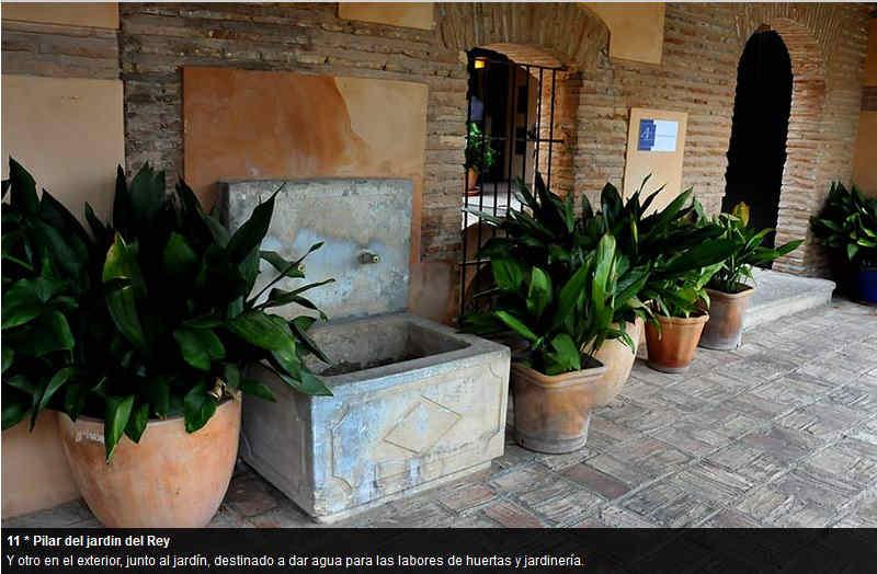 Pilares del Albayzín ID 2014  Aljibe del Rey