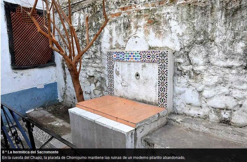 Pilares del Albayzín ID 2014  Placeta de Chorrojumo