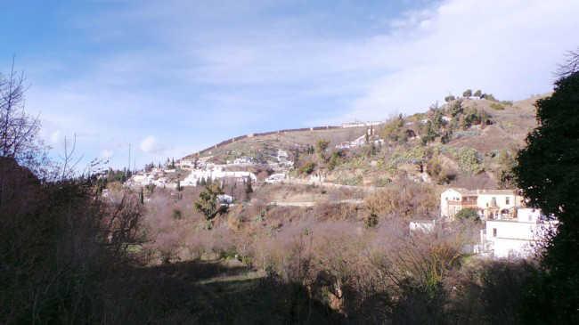 Panorámica del Sacromonte desde el Camino del Avellano. GiM 2014