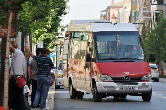 autobus urbano Albayzin
