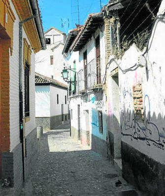 Calle Zenete en el Albayzín. GH2014