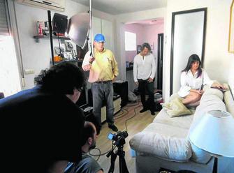 Uno de los rodajes en el Albayzín GH 2014
