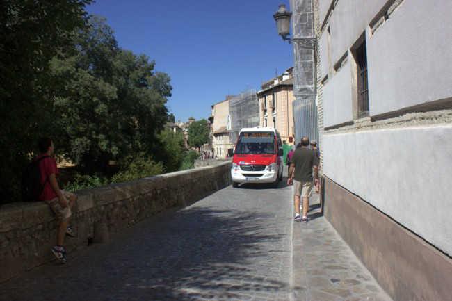 El autobús 31 pasará a denominarse C1. Foto: Alba Asenjo