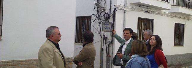 Concejales han visitado el barrio del Albaicín :: IDEAL