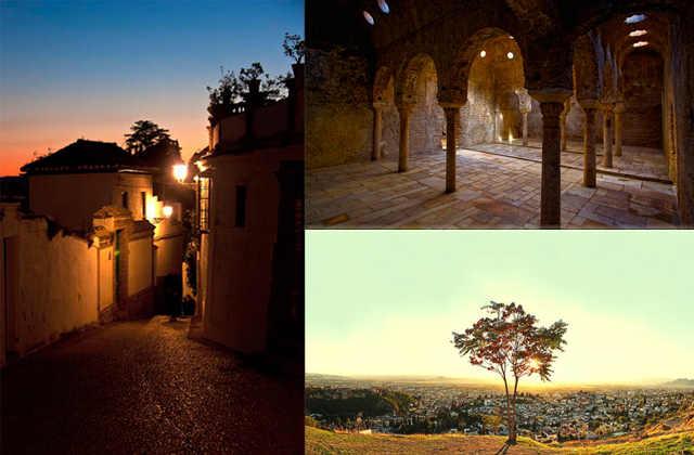 Tres de las fotos finalistas, las de Isabel Morales Rubio, Dolores Diaz Somodevilla y Victor Manuel Navarro.