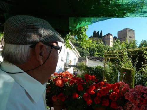 Juan y la Alhambra. Una intensa relación llena de vivencias