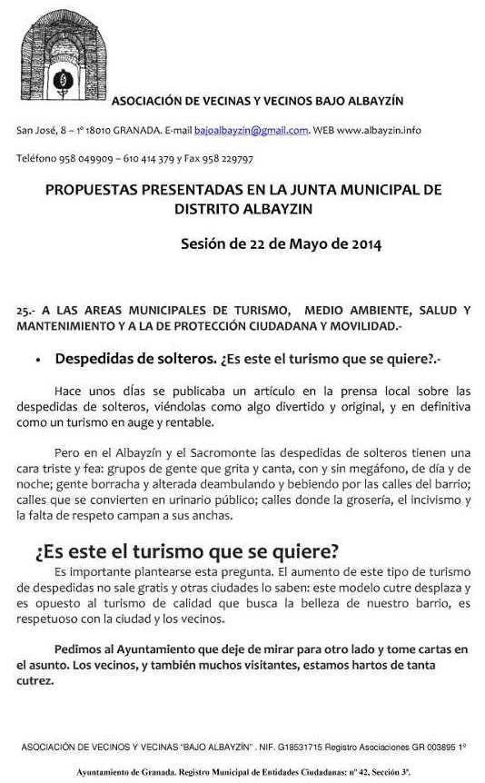 Propuestas JMD mayo 2014