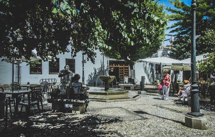 Ateneo Libertario - En el corazón del popular barrio del Albaicín se encontraba el Ateneo Libertario de Granada. Foto Mapa Memoria de Granada