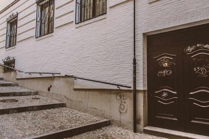 Edificio donde estuvo la Casa del Pueblo de la UGT en la calle Aire, 6