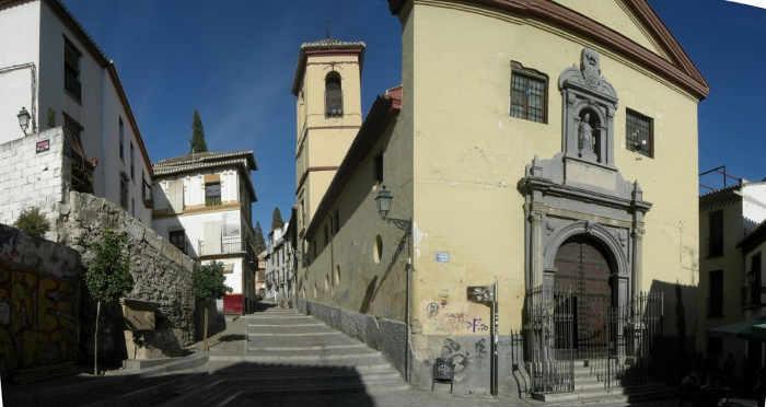 Cárcel de Mujeres en el Convento de San Gregorio - Cuesta de San Gregorio