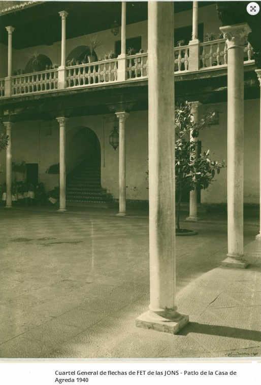 Casa Agreda 1940 Patio