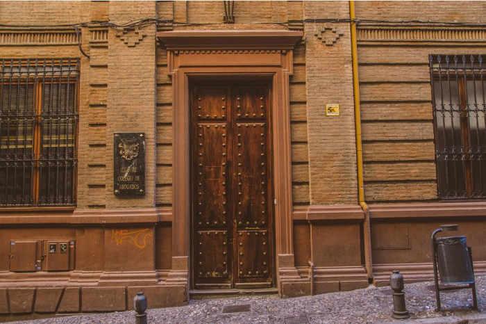 Casa de Francisco González Carrascosa (Partido Agrario Español) - La residencia de González Carrascosa se encontraba en la actual sede del Colegio de Abogados, del que él sería decano