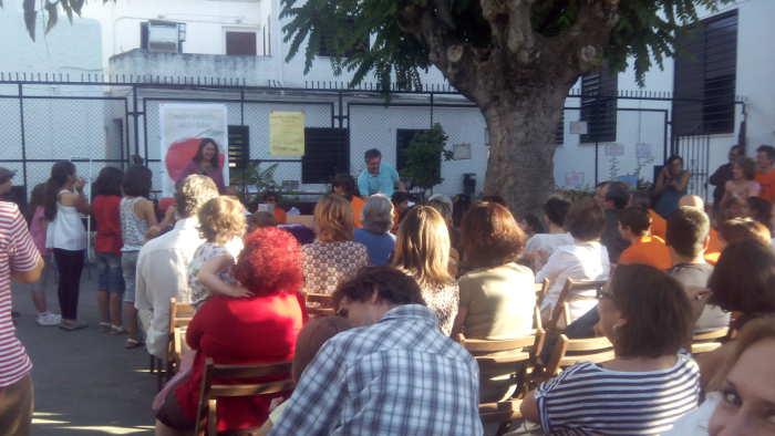 Acto en el Colegio Gómez Moreno. 2014