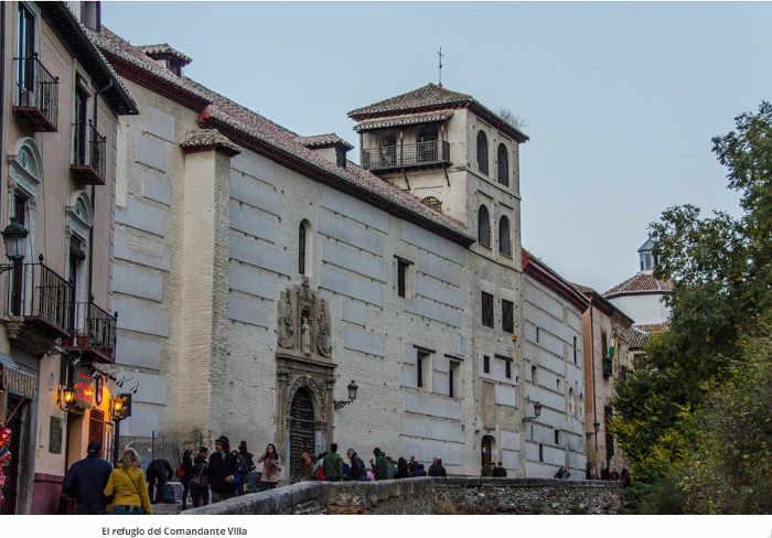 Convento de Zafra en la Carrera del Darro