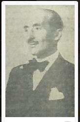 Francisco González Carrascosa, líder del Partido Agrario. 1936