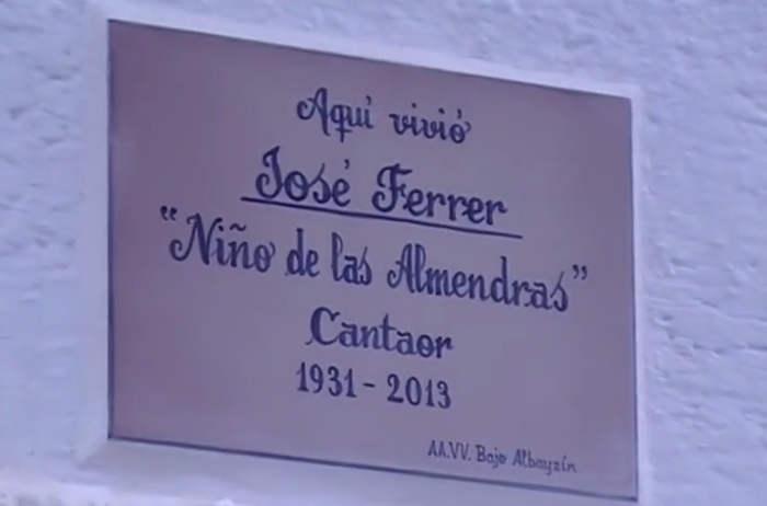 Placa Nino de las Almendras 2014