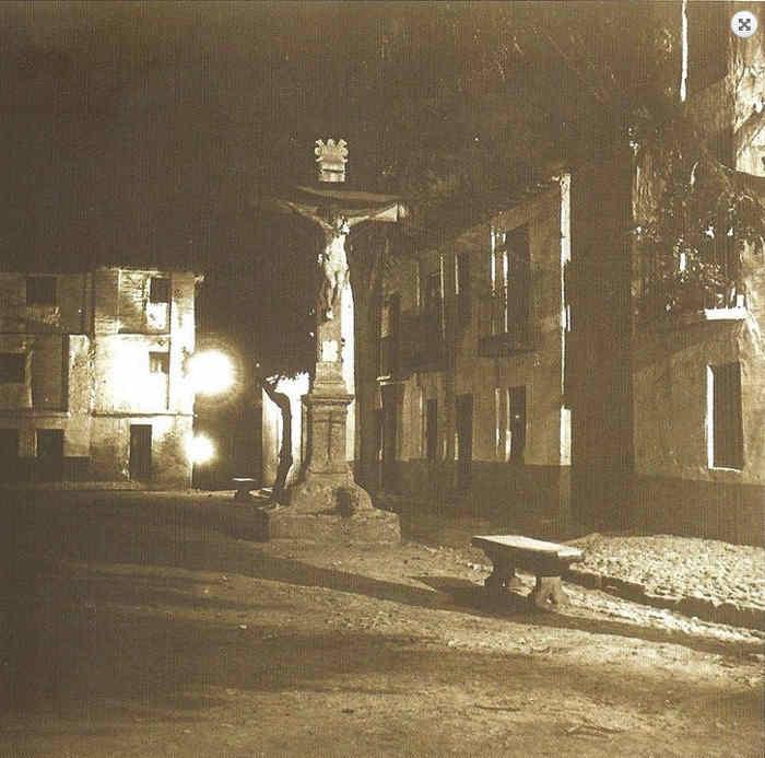 Plaza San Miguel Bajo antigua