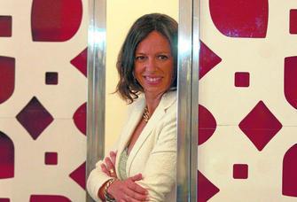 Rocío Díaz, en la Oficina de Turismo de la Plaza del Carmen. GH 2014