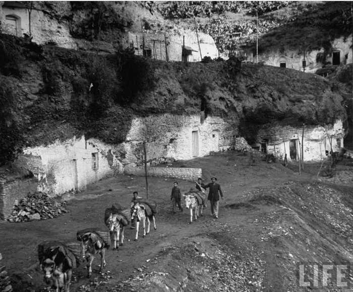 Fotos de Dmitri Kessel en 1949 correspondientes a los archivos de la revista LIFE