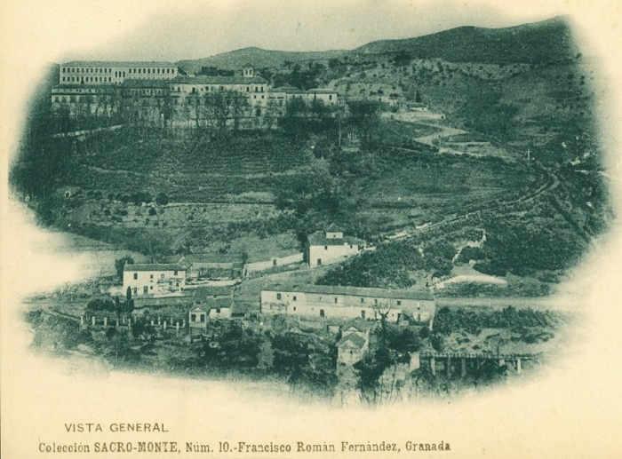 Sacromonte antiguo y abadia