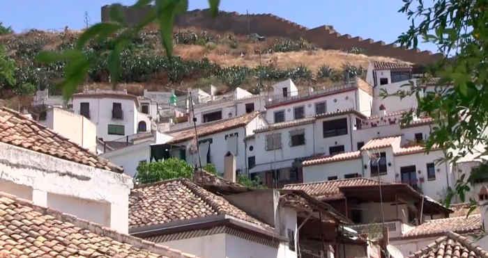 Vista Albayzin y muralla