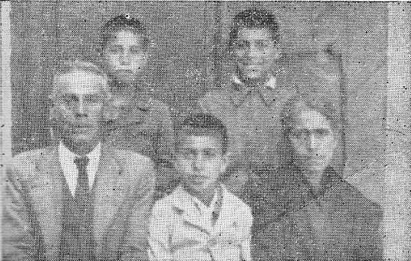 Familia Quero. Foto Mapa Memoria Granada