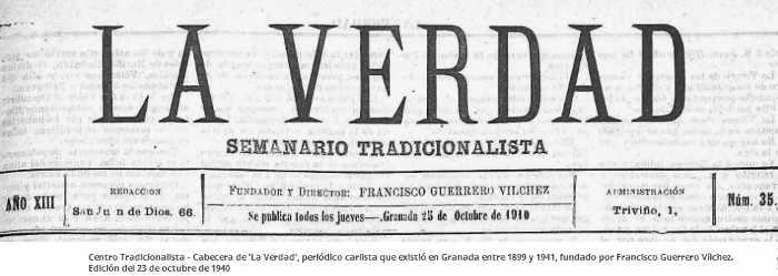 semanario tradicionalista 1940