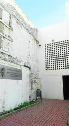 El actual lugar de los servicios sociales en el Centro del Gallo. GH 2014