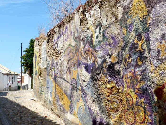 Pintadas muro GD 2014