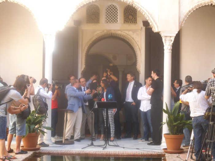 Inauguración del Centro de Interpretación del Albayzín en la Casa de Zafra. 2014