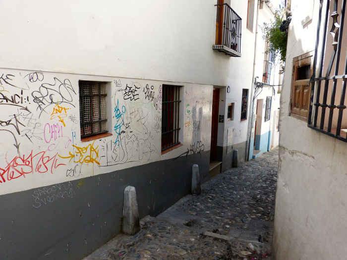 Pintadas en las fachadas GD 2014