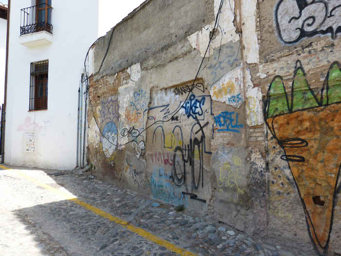 Pintadas muros en Pilar Seco GD 2014