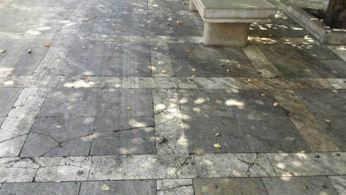 Suciedad en Plaza Nueva 2014