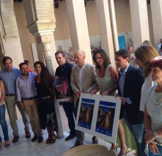 Presentación de Albaicín patrimonio abierto. Teleprensa