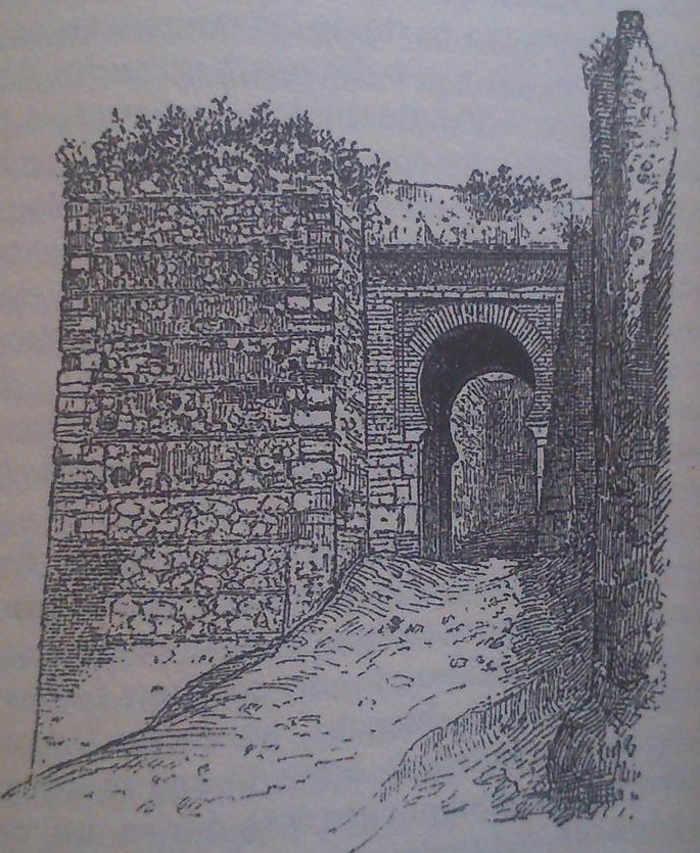 Puerta Monaita ilustración de 1892